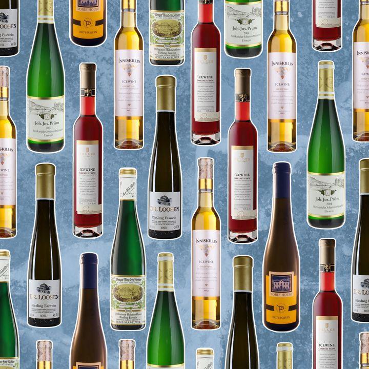 Ice wine bottles