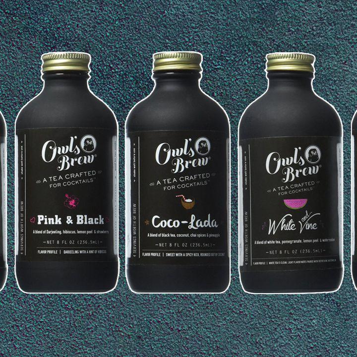 Owl's Brew bottles
