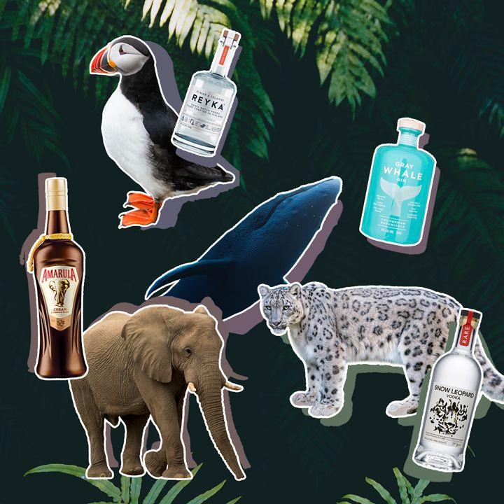 liquor brands protecting endangered species