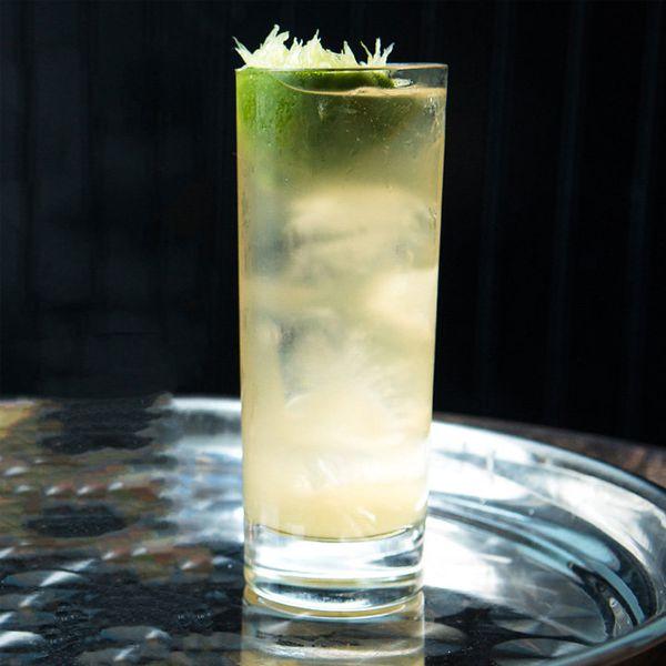 Bourbon Rickey cocktail
