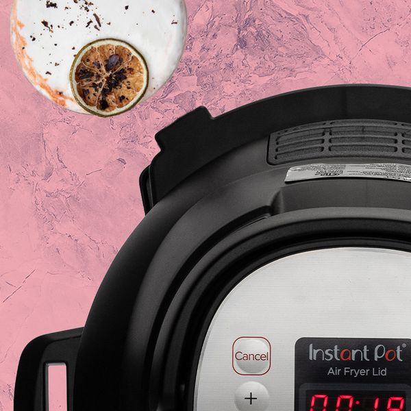 Instant Pot with cocktail