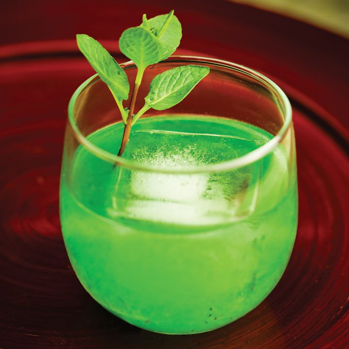 Mint Green Old Fashioned
