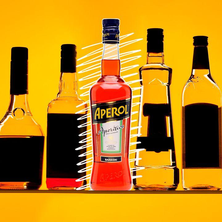 Aperol bottle