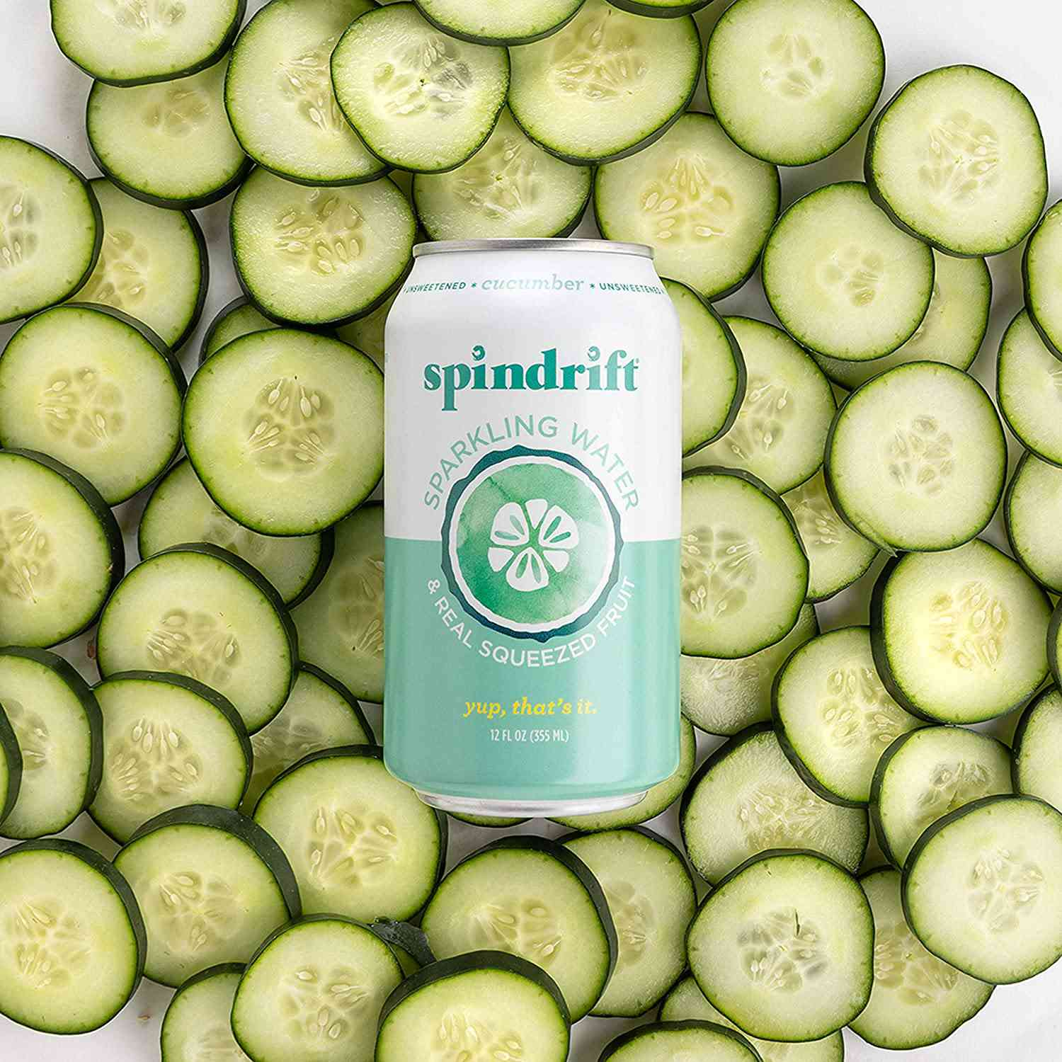 Spindrift Cucumber Flavored Water