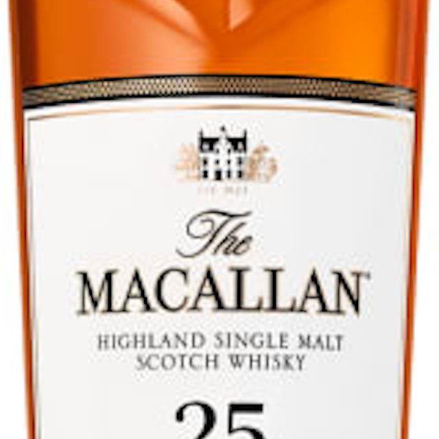 The Macallan 25 Year Old Sherry Oak