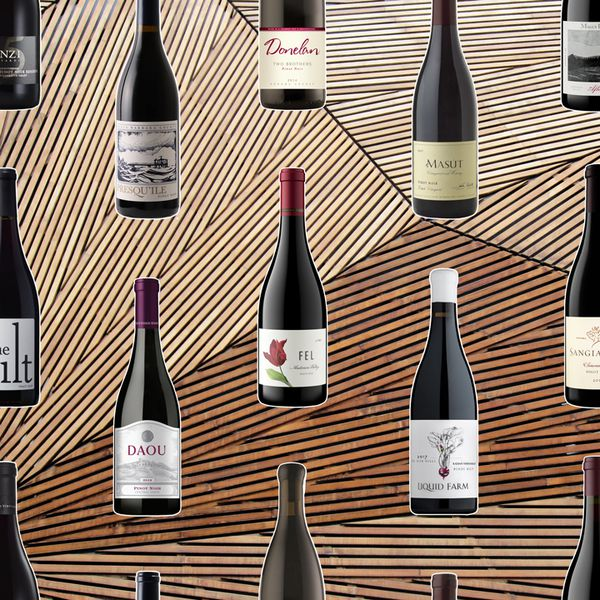 wine bottles composite