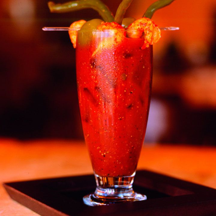 bayou bloody mary cocktail