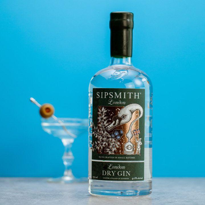 Sipsmith London bottle
