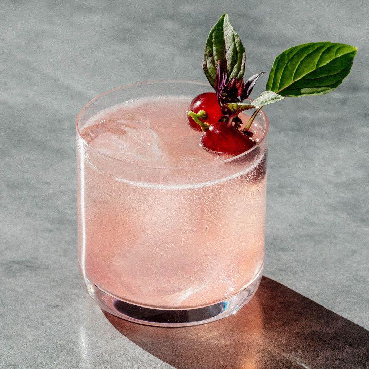Sacred Grape cocktail