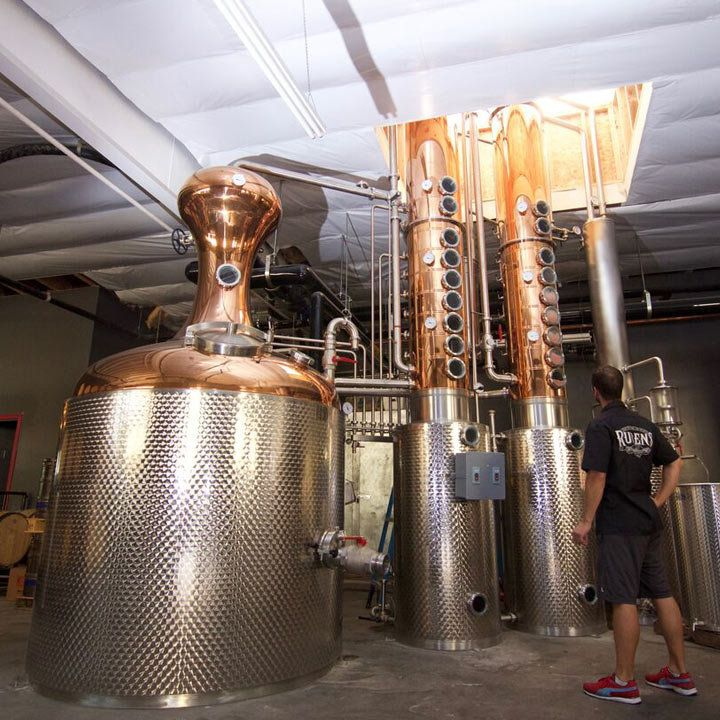 R6 Distillery in El Segundo, California.