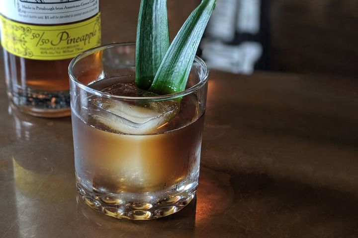 maggie's fancy cocktail