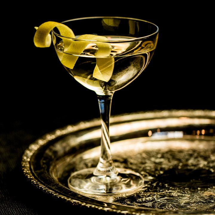 Room Temperature Martini