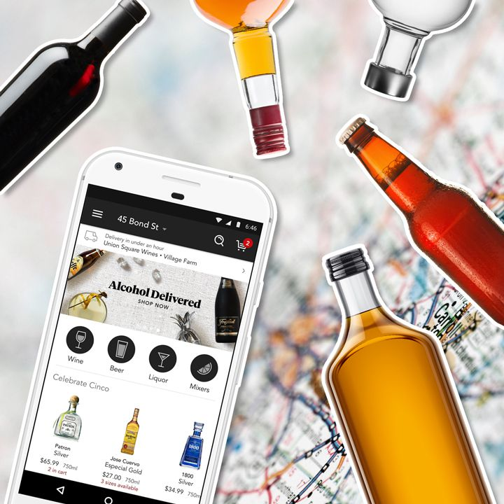 6 Best Booze Delivery Apps