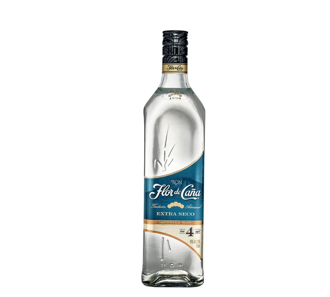 Flor de Caña 4 Year Old Rum Extra Seco
