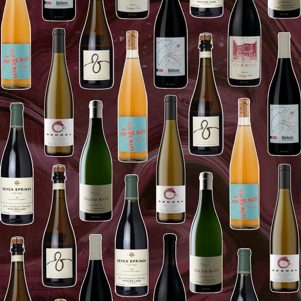 Oregon wine bottles