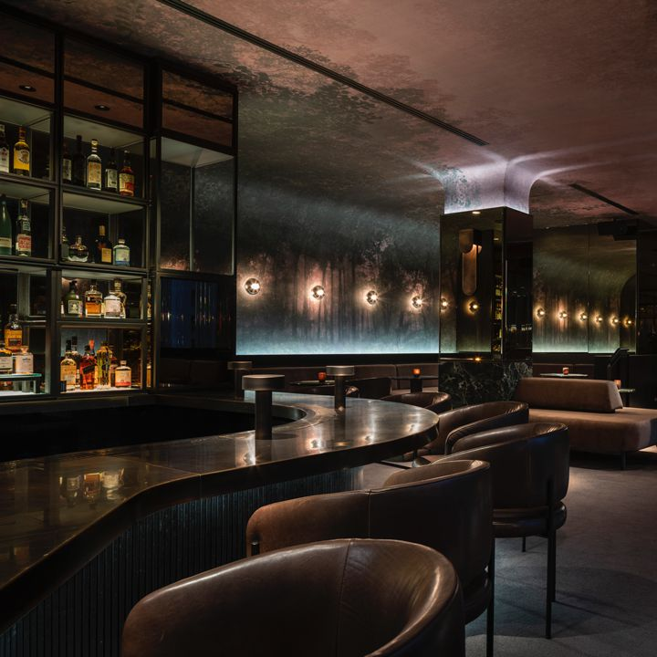 Marcus bar the Four Seasons Montreal