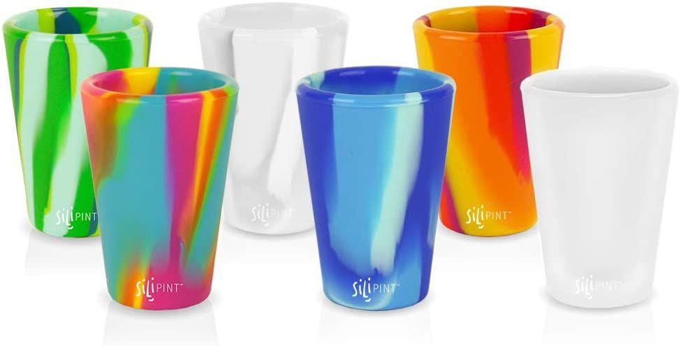 Silipint Silicone Shot Glasses Set