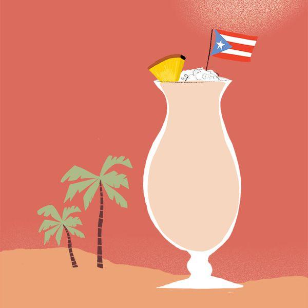 Pina Colada illustration