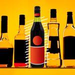 Bottle illustration