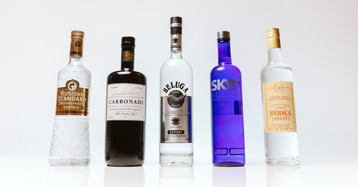 5 Essential Vodka Bottles You Need for Your Home Bar