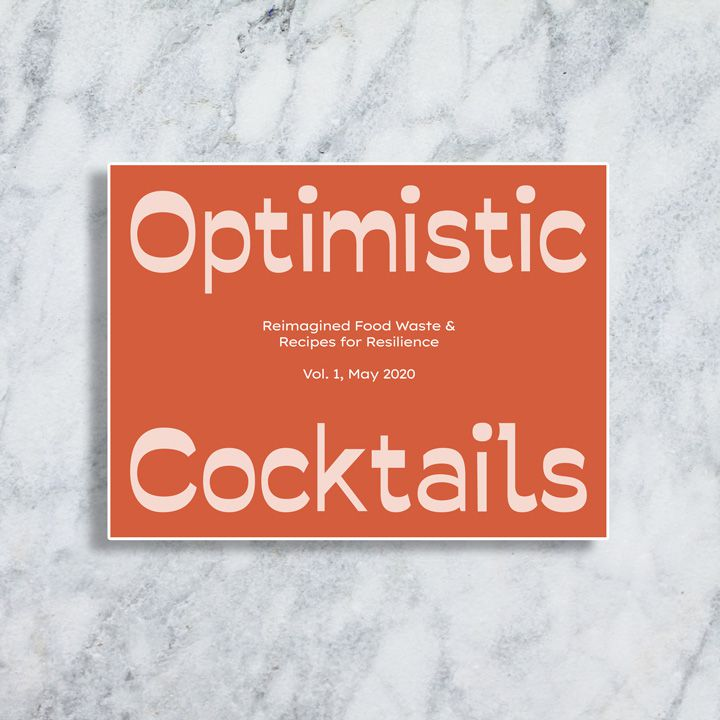 Optimistic Cocktails book