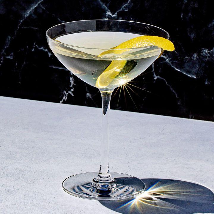 Dreamy Dorini Smoking Martini