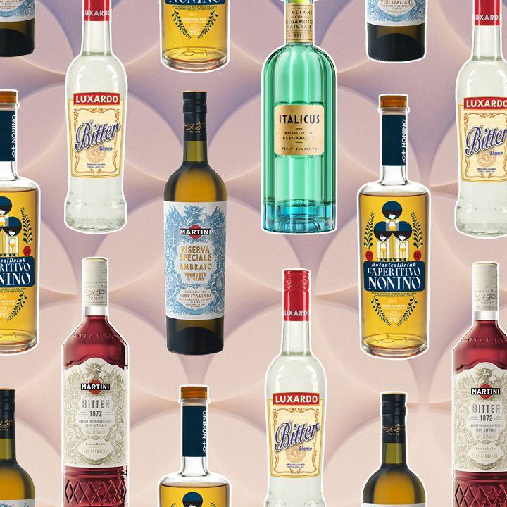 aperitivi bottles