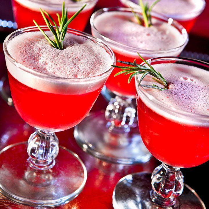 winter sour cocktail