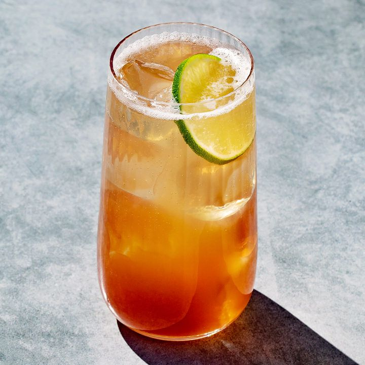Dram Rickey cocktail