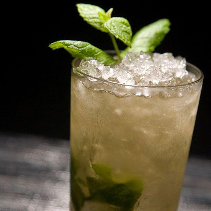 albarino mint julep cocktail