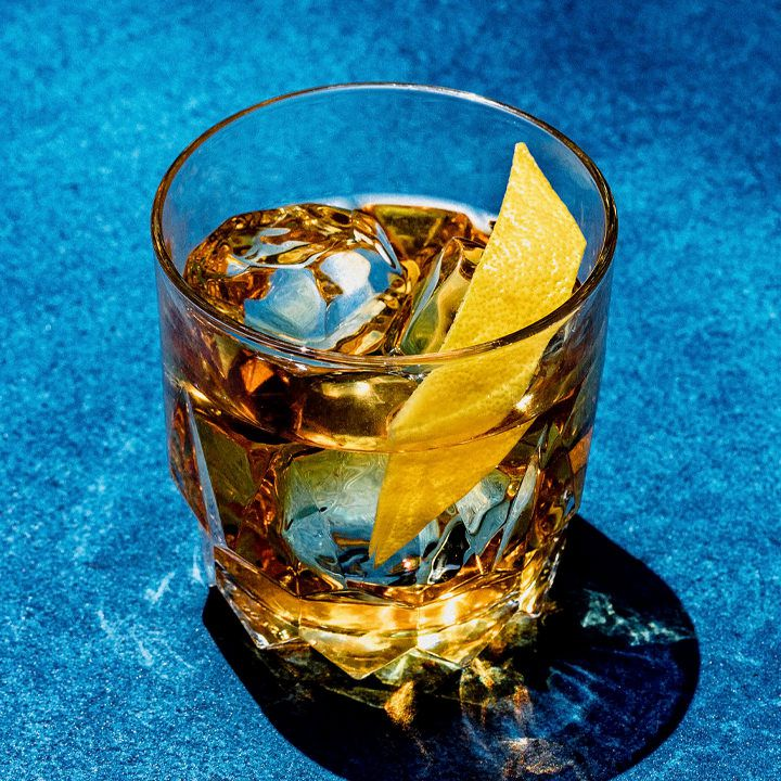 Spiced Tequila Old Fashioned