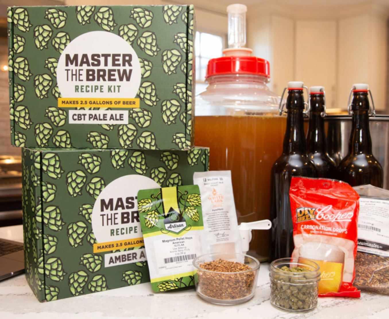 brewvana brew making kit
