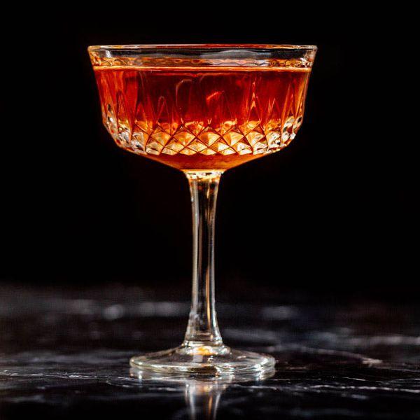 Canadian Manhattan cocktail