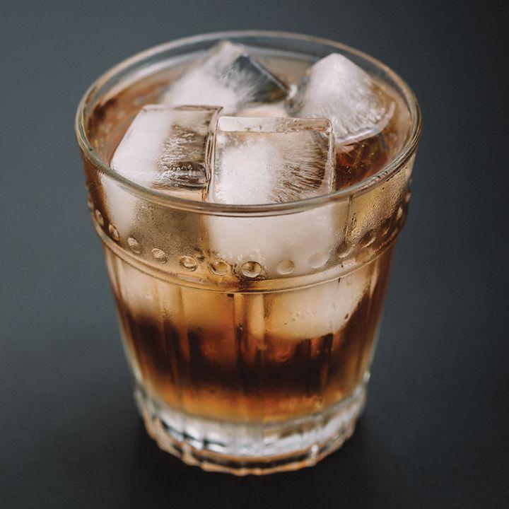 Burgundy cocktail