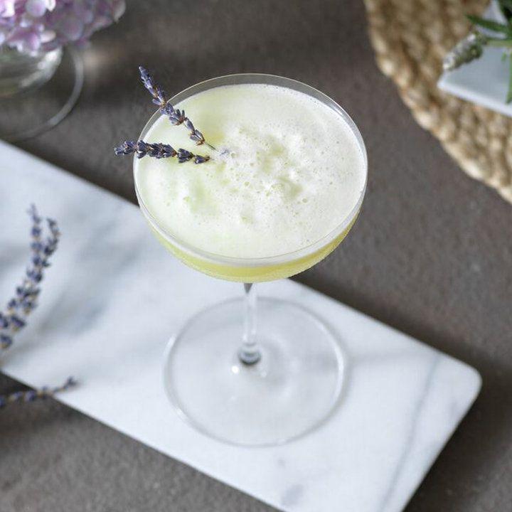 eau de lavender cocktail