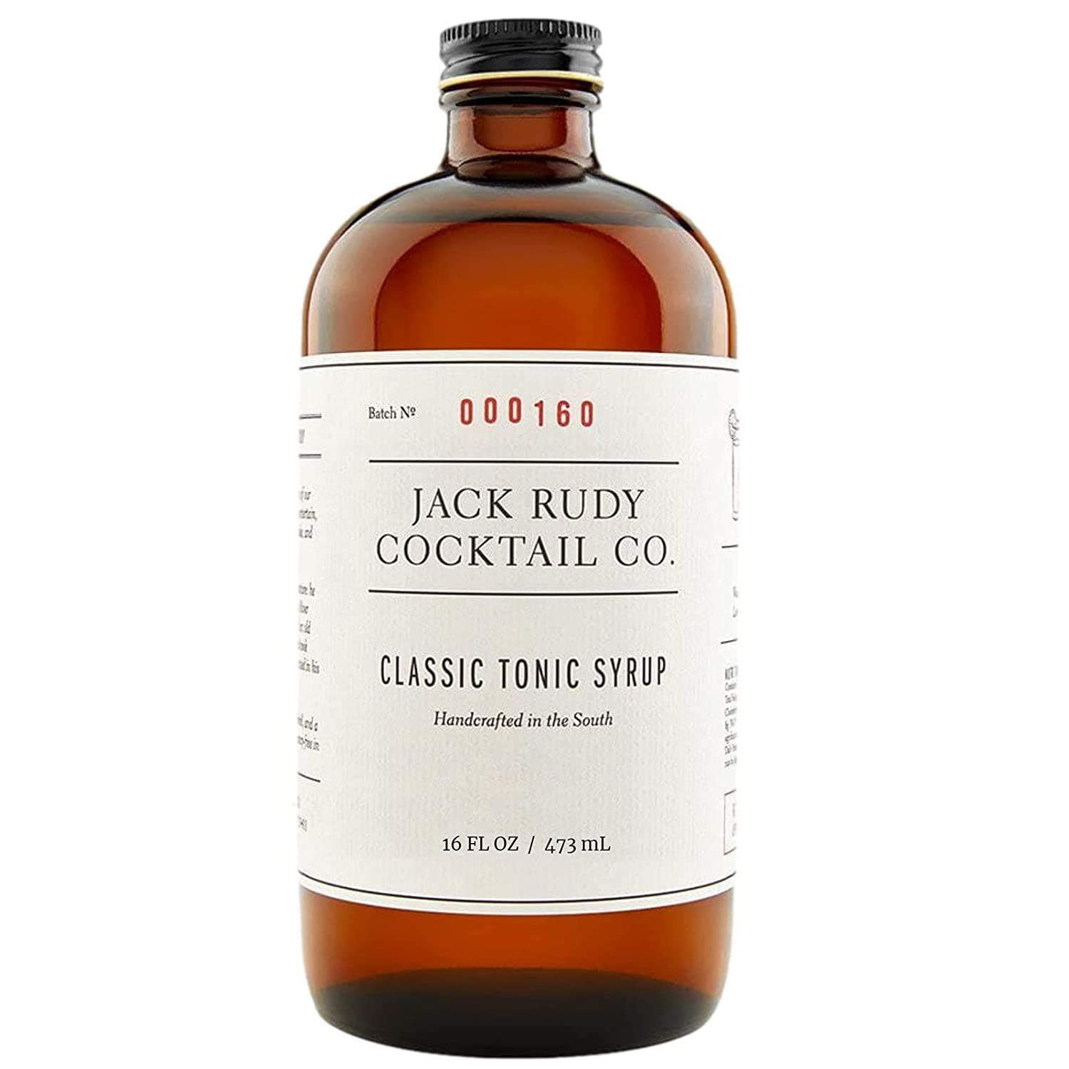 JACK RUDY COCKTAIL CO Classic Tonic Syrup