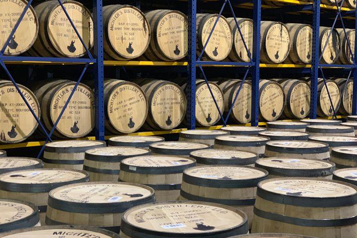 Michter's barrels