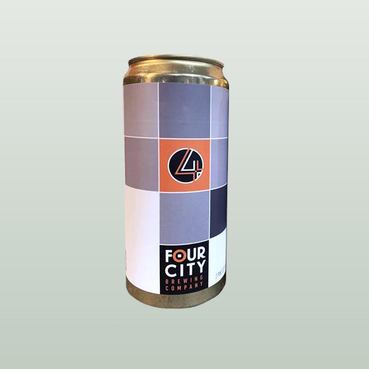 Four City Crescent Moon Chai Latte Imperial Stout