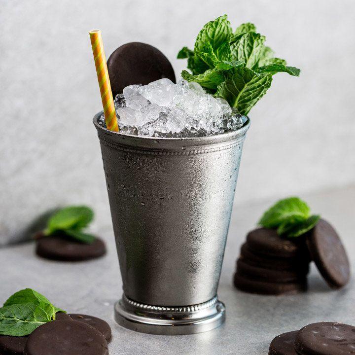 Thin Mint Julep Cocktail Recipe