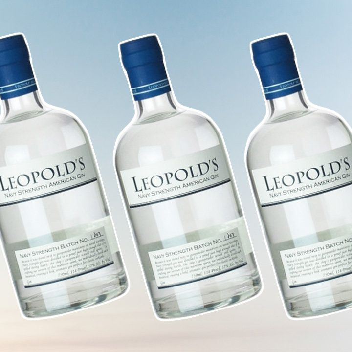 Leopold's Navy Strength American gin bottle