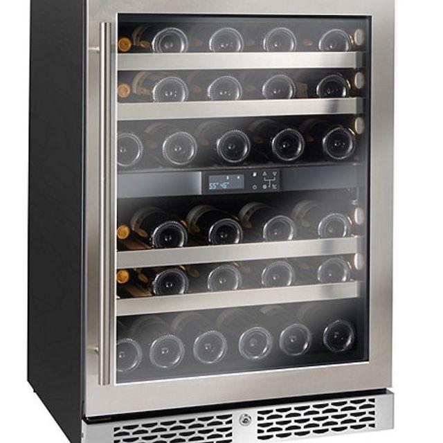 Wine Enthusiast Vinotheque Café Undercounter Wine Cellar