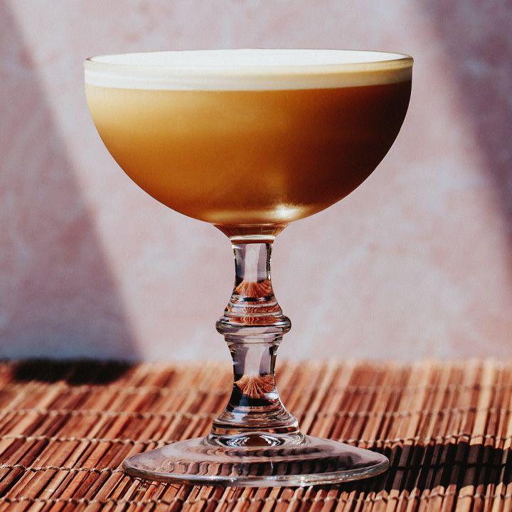 Cynar Flip cocktail