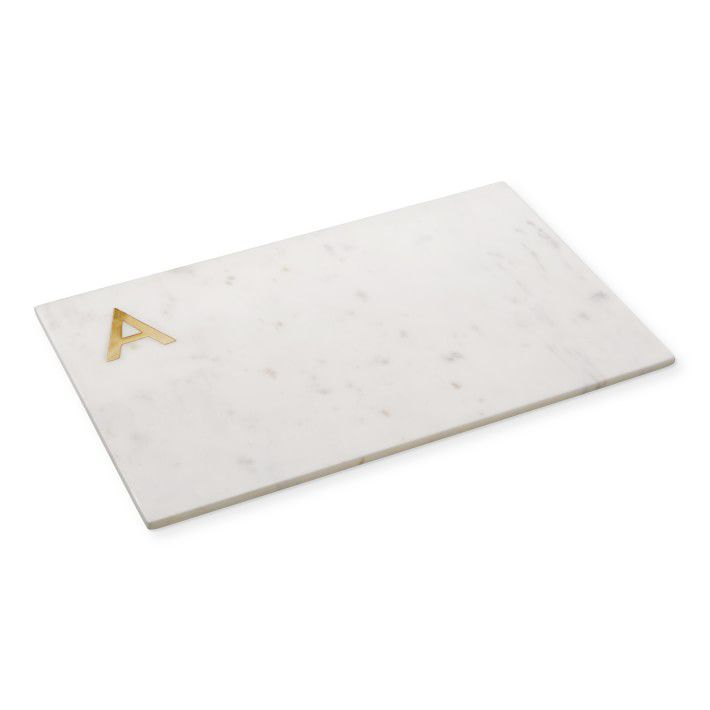 Marble & Brass Monogram Board