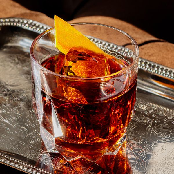 Jagermeister Old Fashioned Cocktail
