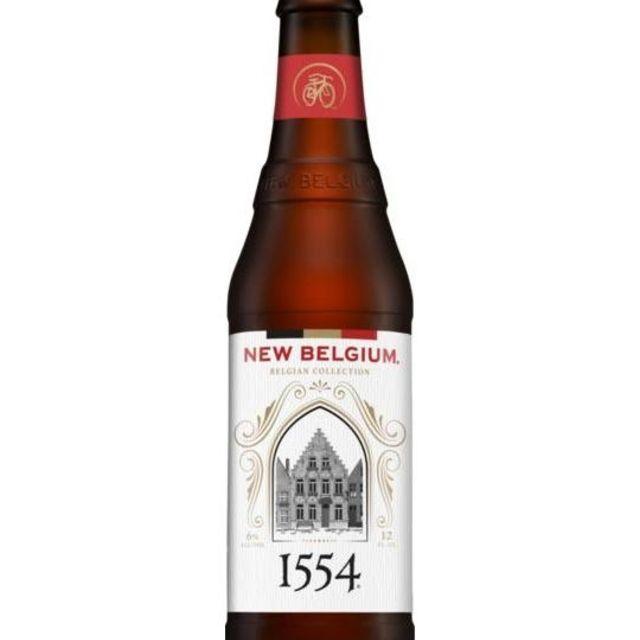 New Belgium Brewing 1554 Enlightened Dark Ale