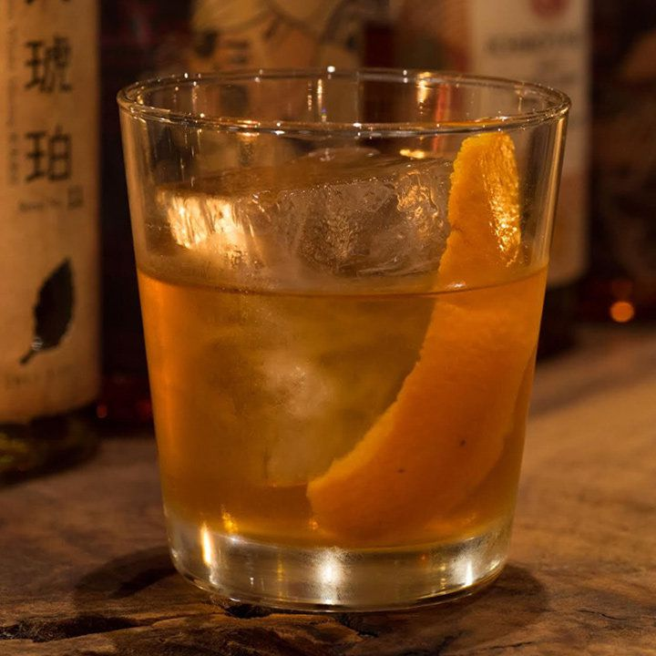 Local Old Fashioned at Bar Gyu+ in Niseko, Japan