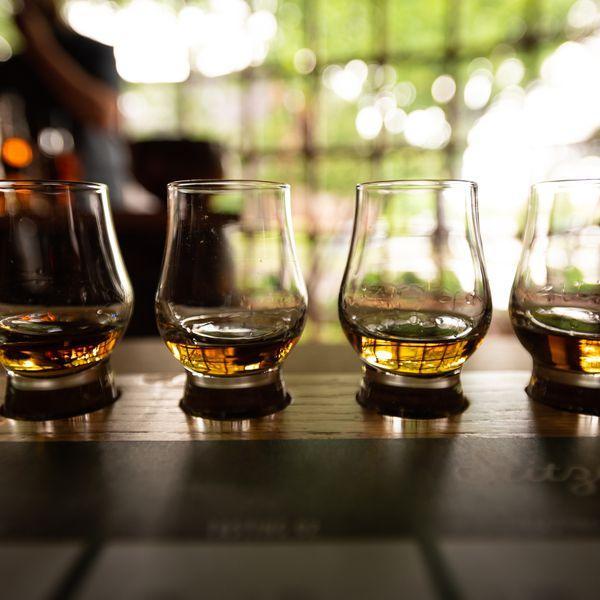Kentucky bourbon tasting