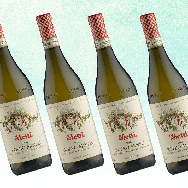 Vietti Roero Arneis bottles