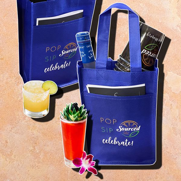 delivery bags with cocktails