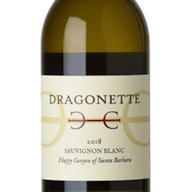 2018 Dragonette Cellars Sauvignon Blanc Happy Canyon Santa Barbara
